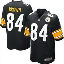 NWT Nike NFL Pittsburgh Steelers #84 Antonio Brown Game Jersey Youth Medium (M)