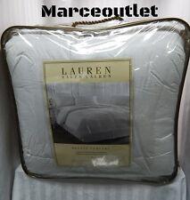 RALPH LAUREN Bronze Comfort KING Down Alternative Comforter White
