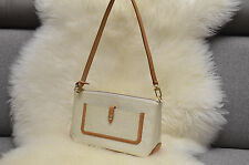 LOUIS VUITTON  VERNIS PERLE WHITE MALLORY SQUARE Pochette SHOULDER BAG
