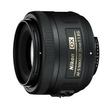 Nikon 35mm f/1.8G AF-S DX Lens for Nikon Digital SLR Cameras - NEW IN BOX