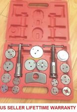 18 pcs Disc Brake Caliper Piston Pad Car Auto Wind Back Hand Tools Kit With Case
