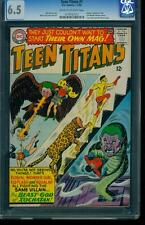 Teen Titans 1 CGC 6.5 Silver Age Key Marvel Comic Early appearance L@@K