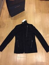 BNWT *Limited DarkEdition ZARA Men's Real Suede Leather JACKET size L RRP 149 £