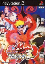 Used PS2 Naruto: Narutimate Hero 3   Japan Import (Free Shipping)