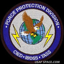 USAF LIFE CYCLE MANAGEMANT CENTER - FORCE PROTECTION DIVISION - VELCRO PATCH