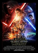 STAR WARS THE FORCE AWAKENS MOVIE POSTER WALL ART LARGE A4 260gsm