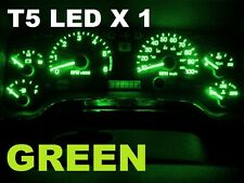 T5 GREEN SMD LED Wedge  VS VT VX VY VZ VU SS VE AU BA BF FG Dash Console A+