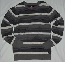 NEW MENS QUIKSILVER ACTUALIZER PULLOVER SWEATER SMOKE SIZE XX-LARGE