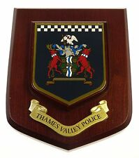 THAMES VALLEY POLICE CLASSIC HAND MADE IN UK MESS PLAQUE