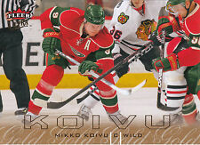 09/10 FLEER ULTRA GOLD MEDALLION #73 MIKKO KOIVU WILD *3593