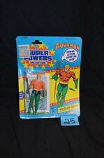 Vintage 1984 Kenner Super Powers Aquaman MOC NRFP Mint