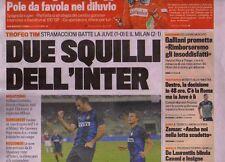 La gazzetta Sportiva 22-7-2012 Due Squilli Inter-Trofeo TIM batte Juve e Milan