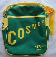 NEW YORK COSMOS GREEN RETRO MESSENGER BAG BY UMBRO BRAND NEW WITH TAGS