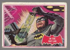 "[60933] 1966 TOPPS BATMAN RED BAT SERIES CARD #25A ""IN THE BAT LAB"""