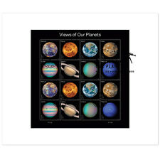 USPS New Views of Our Planets FDC Full pane