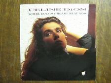 CELINE DION 45 TOURS HOLLANDE WHERE DOES MY HEART BEAT++