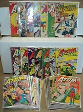 Atom 2-45 SET Solid! #3 1st app Chronos! #7 Hawkman! 1962-1969 DC (set# 4670)