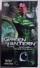 GREEN LANTERN MOVIE. LTD EDITION SINESTRO BUST. PORCELAIN 6.4 INCHES. 894/5000
