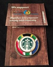Starbucks South Africa Flag Pin Badge Mermaid Logo Johannesburg New Metal Relief