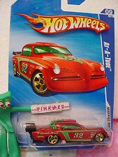 2009 Hot Wheels AT-A-TUDE #165∞Red w/Green;32~El Segundo Missle~Modified Rides