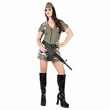 robe camouflage militaire fille soldat deguisement costume halloween carnaval TL