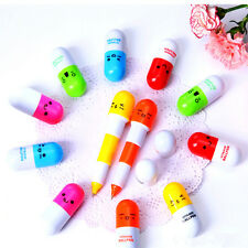 2015 New Cute Pill-style Ballpoint Pens   Kawaii Facial Expressions Stationary