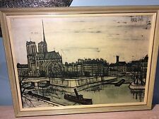 Bernard buffet original lithograph print V/good condition 1956