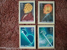 PHQ Stamp card set No 133 Scientific, 1991. 4 card set.  Mint Condition.