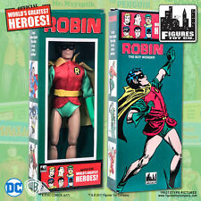 DC Comics Robin 8 inch Action Figure in Mego Style Retro Box