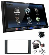 Kenwood DMX100BT 2DIN Autoradio Bluetooth USB MP3 LCD 6.8 für Ford Fiesta Fusion