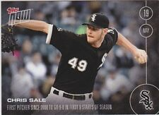 2016 Topps NOW #85 Chris Sale 9-0 in 9 Starts Chicago White Sox ONLY 513 Made SP