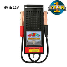 6V to 12V Auto Battery & Charging Tester System ATV BOAT RV Automotive Tools US