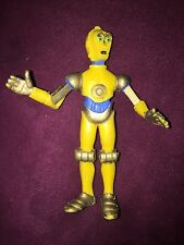 Rare Star Wars C-3PO Droids cartoon movie PVC Figure made in SPAIN 1986 Very Nic