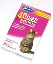Johnsons Flea Tablet Tablets Trendy Treatment for Cats Kittens Killing Fleas