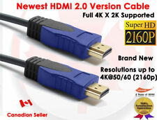 Super High Resolution HDMI 2.0 V 6FT Cable For 2160P HDTV Plasma LCD PS3 DVD
