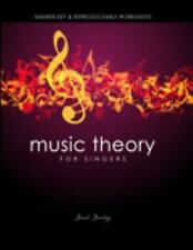 Music Theory for Singers: Answer Key and Reproducable Worksheets, SANDVIG  SARAH