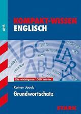 Training Österreich: Kompaktwissen Englisch Grundwortschatz von Rainer Jacob
