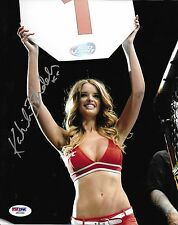Kahili Blundell Signed UFC 8x10 Photo PSA/DNA COA Playboy Picture Octagon Girl 3