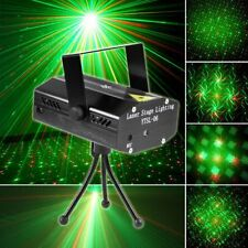 Mini Projector DJ Disco Light Stage RED & GREEN Party Laser Lighting US/UK/EU/AU
