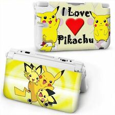 POKEMON Pikachu Custodia Rigida Cover Protettiva For OLD NINTENDO 3DS XL