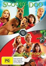 Scooby Doo / Scooby Doo 2 Monsters Unleashed / 2 movie pack DVD R4 NEW