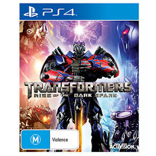 Transformers Rise Of The Dark Spark Game For PS4 Sony Playstation 4 New Sealed