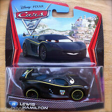 Disney PIXAR Cars 2 LEWIS HAMILTON UK WORLD GRAND PRIX Great Britain diecast #24