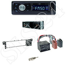 Caliber RMD021 Autoradio + BMW 3er (E46) Blende black + ISO Adapter Set