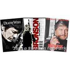 Death Wish: Complete Charles Bronson Movies Series 1 2 3 4 5 Box/DVD Set(s) NEW!