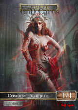 3x Vampire #12 Custom Altered Tokens MTG (for Sorin Lord of Innistrad)