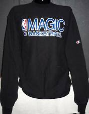 HUGE VINTAGE ORLANDO MAGIC BASKETBALL GAME WORN SWEATSHIRT SHIRT BOWIE NBA
