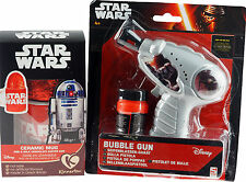 Star Wars Ceramic Cup, Chocolate Easter Egg And Bubble Blowing Toy Gun