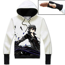 Hoodie Jacket Anime Sword Art Online Leisure Pullover Cosplay Unisex Coat SAO#78