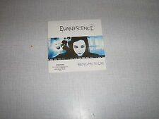 EVANESCENCE CD SINGLE BRING ME TO LIFE